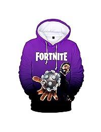 olivadreamhouse Fortnite Heroes Gamers Youth Sweatshirt 3D Print Hoodie Battle Roya