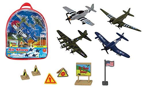 WowToyz Backpack Playset - World War II Warbirds, used for sale  Delivered anywhere in USA