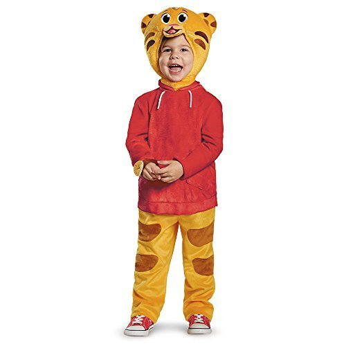[Daniel Tiger Deluxe Costume - Toddler Large] (Daniel Tiger Deluxe Costumes For Toddlers)