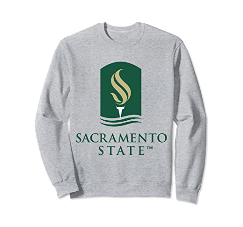 - Unisex Sacramento State Hornets CSUS NCAA Sweatshirt PPCSC08 XL Heather Grey