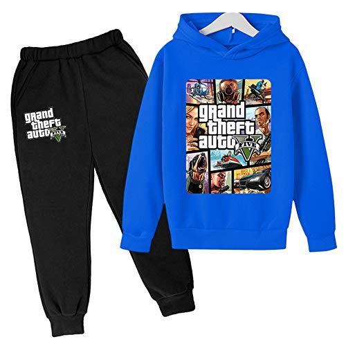 Proxiceen Grand Theft Auto Gta5 kindertrui met lange mouwen voor jongens en meisjes