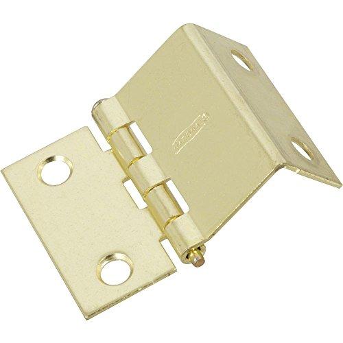 National Hardware N134-841 Shutter Hinges BRS, 0, Brass