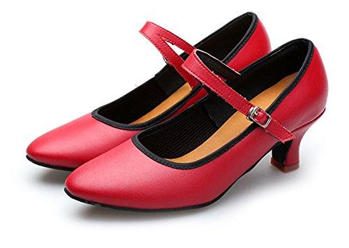 Miyoopark - salón mujer Red-6cm Heel