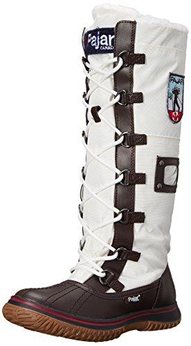 Pajar Womens Grepp Zip Boot Brun / Off White