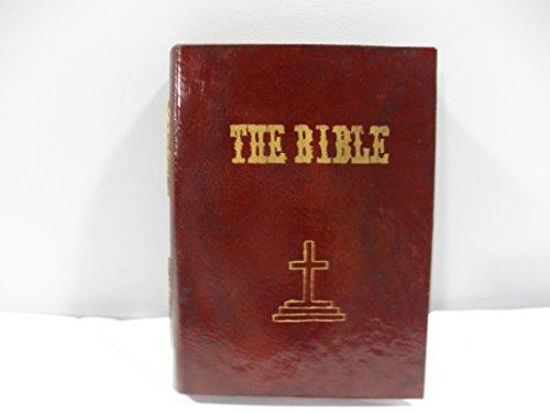 Wooden Bible Box - Bible Shape Box - Red