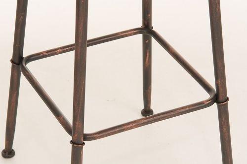 Clp sgabello alto soho stile industriale in metallo altezza