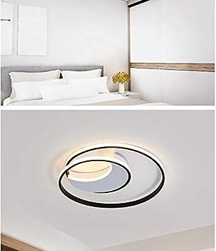 Modernos LED luces de techo para sala de estar dormitorio ...