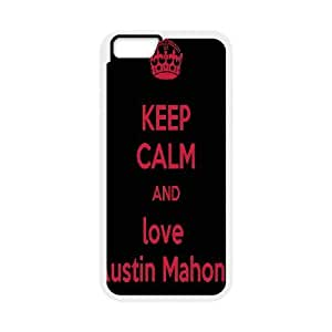 Austin Mahone Quotes Keep Calm and Love Austin Mahone Case Cover For SamSung Galaxy Note 4 Cool Case Cover For SamSung Galaxy Note 4 for Girls {White}