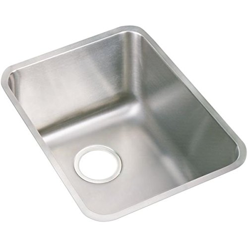 (Elkay PODUH141810 Pursuit Stainless Steel 16-1/2-Inch x 20-1/2-Inch Undermount Single Basin Outdoor Sink)