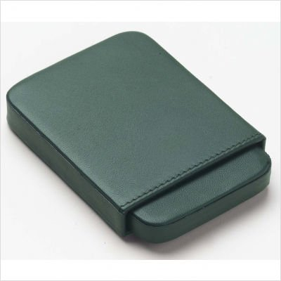 Clava Mens Wallet - Clava Slide Business Card Holder - Bridle Green - Bridle Green