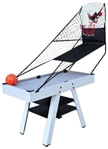 WellBuilt 4 Foot 4-in-1 Multi-Sport Game Table (Hockey,Pool/Billiards,Basketball and Tennis) by well-built