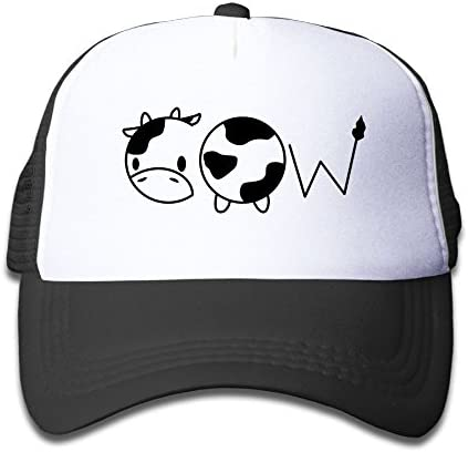 Xin Pilig Cow 2 Youth Toddler Mesh Hat Boy and Girl Baseball Trucker Cap