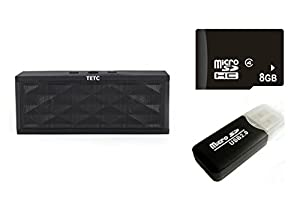 Portable Wireless Bluetooth Speaker with Built in Speakerphone & 8 hour Rechargeable Battery for iphone 4 5 5S 6 , samsung galaxy s4 note 3 ,mp7 from TETC
