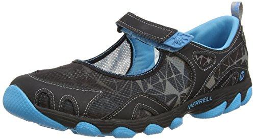 Merrell HURRICANE MJ J24552 Damen Aqua Schuhe, Black (Black/Horizon Blue), 37 EU