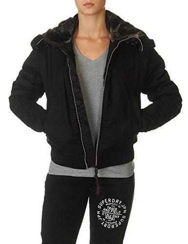 G-Star Women's Polax Hdd Women's Black Bomber Jacket 100% Cotton negro