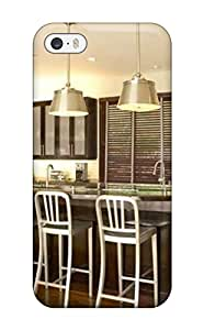 Case Cover Contemporary Kitchen With Dark Wood Cabinets And Stainless Steel Accents/ Fashionable Case For Iphone 5/5s