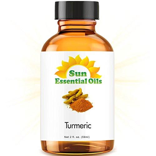 Turmeric (2 fl oz) Best Essential Oil - 2 ounces (59ml)