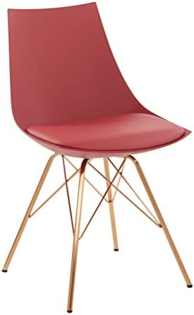 OSP Home Furnishings Oakley Mid-Century Modern Bucket Chair