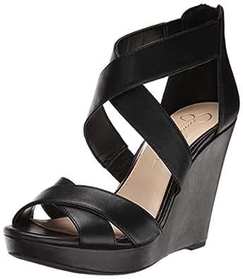 19635595728 Jessica Simpson Women s Jadyn Wedge Sandal