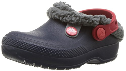 crocs Kids' Classic Blitzen III K Clog, Navy/Slate Grey, 1 M US Little Kid by Crocs