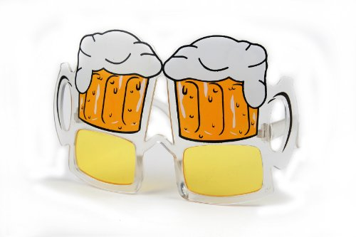 Halloween Costume Party Sunglasses Beer Mug P1007 (Beer Mug)