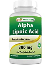 [US Deal] Save on Best Naturals Alpha Lipoic Acid 300 mg 120 Capsules. Discount applied in price displayed.