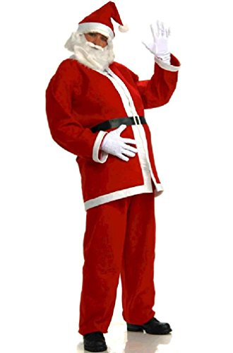 [8eighteen Simply Santa Adult Costume (STD)] (Plus Size Simply Santa Costumes)