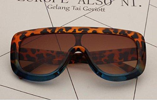 E marco Frog UV400 sol de para Mirror grande RDJM mujer a Gafas 7xaqCvvwf