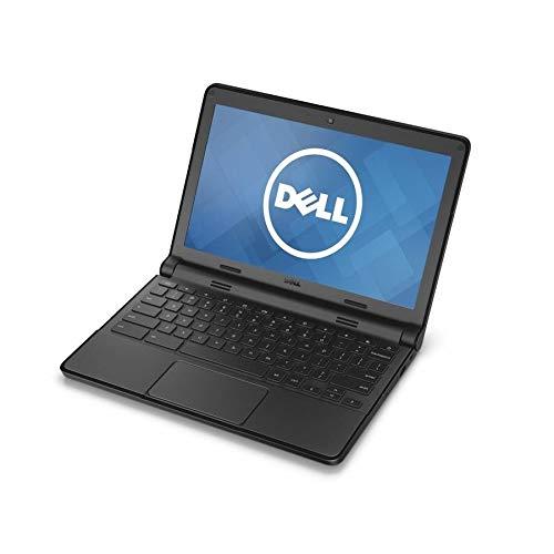 Dell Chromebook XDGJH Intel Celeron N2840 X2 2.16GHz 4GB 16GB SSD,Black(Renewed)