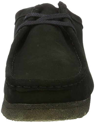 Originals Wallabee Nero Uomo Mocassini Clarks Sde black gqvgd7FnZw