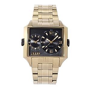 ZERO HALLIBURTON watch dual time Date ZW004G-02 Men's