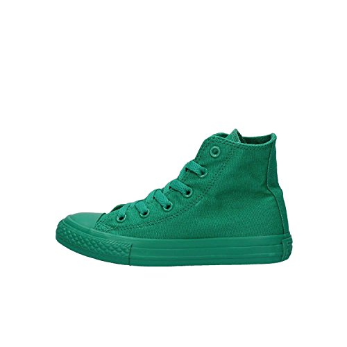 Converse All Star Hi Canvas Monochrome - Zapatillas abotinadas Unisex Niños verde