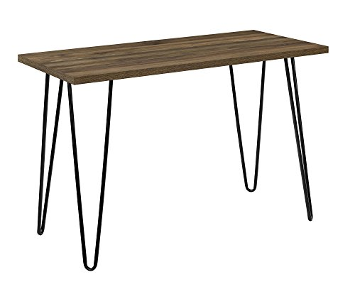 ameriwood home 9851396com owen collection retro desk, walnut