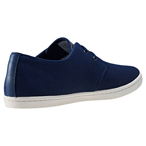 Fred Perry Byron Low Twill French Navy Silver B8233143, Turnschuhe