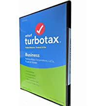 TurboTax Business Tax Software 2017 Fed+Efile+State PC/Win (SEALED IN DVD CASE)