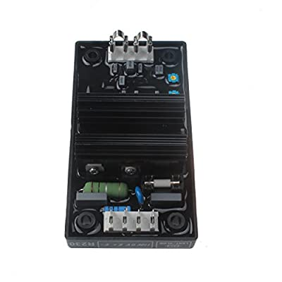 Friday Part AVR R230 Automatic Voltage Regulator Electronics Module for Generator Genset With 1 Year Warranty: Automotive