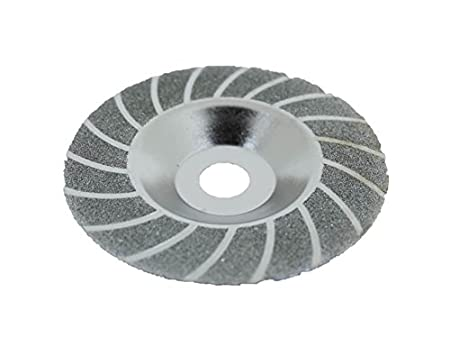 TEMO 100mm 4 inch Diamond coated grind grinding disc wheel bowl shape GC Golden Coulee