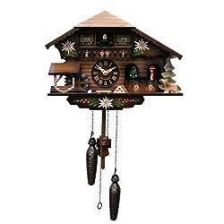 ISDD Engstler Quartz Cuckoo Clock - Alpine Log House