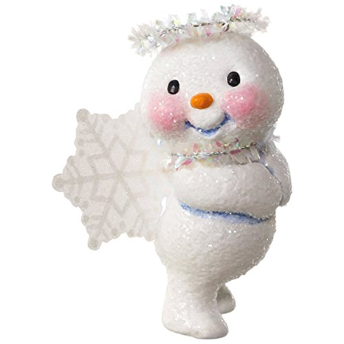 Angels Ornaments (Hallmark Keepsake 2017 Snow Angel Christmas Ornament)