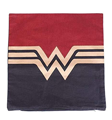 Funda de cojín Wonder Woman Logo - Gold: Amazon.es: Hogar