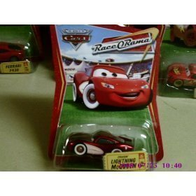 Disney / Pixar CARS Movie 1:55 Die Cast Car Series 4 Race-O-Rama Cruisin' Lightning McQueen ()