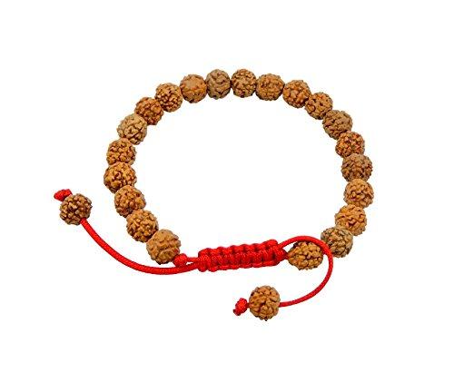 Tibetan Mala Rudraksha Seed Wrist Mala/ Bracelet for Meditation