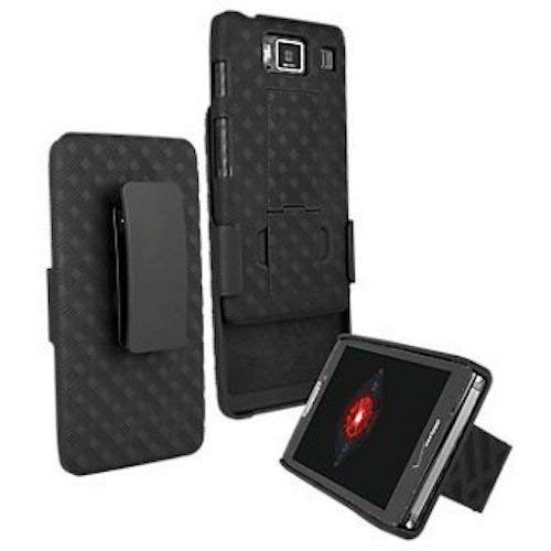 VZW OEM Hard Shell Case w/ Holster Combo for Motorola DROID RAZR HD XT926 (NOT FOR RAZR MAXX HD XT926M)