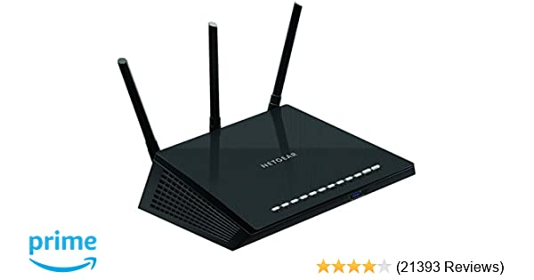 amazon com netgear r6700 nighthawk ac1750 dual band smart wifi rh amazon com diagram cable modem wireless router