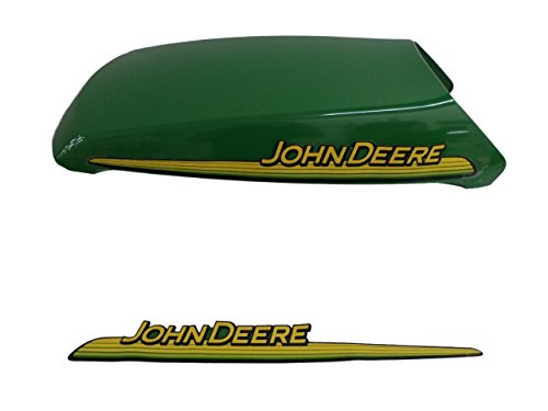 John Deere AM132530 hood with decal for LT150, LT160, LT170, LT180, LT190, and LTR180