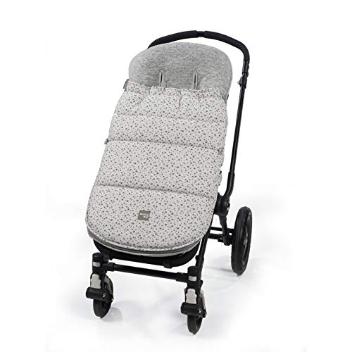 Walking Mum Stars Be - Saco para silla, unisex, color gris