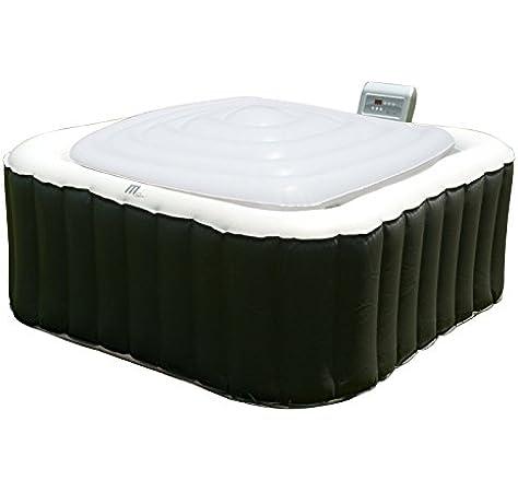 MSPA Hot Tub Jacuzzi Heat Preserver & Rain Outflow Cubierta de vejiga inflable cuadrada para 6 personas, Square Spa Alpine / Tekapo / Soho / Bliss / Lite: Amazon.es: Deportes y aire libre