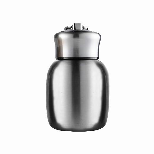 ypypiaol Botella de agua termo para niños - 200 ml - Mini botella de agua termo de vacío portátil de acero inoxidable con aislamiento para niños ...