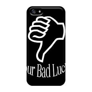 High Impact Dirt/shock Proof Case Cover For Iphone 5/5s (your Bad Luck)