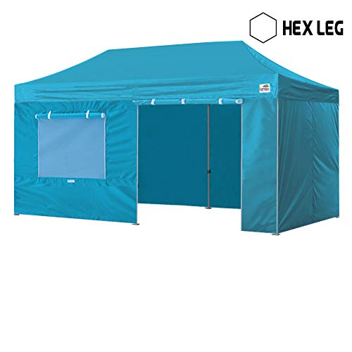 Eurmax New 10 x 20 Ez Pop up Canopy Instant Canopy Commercia
